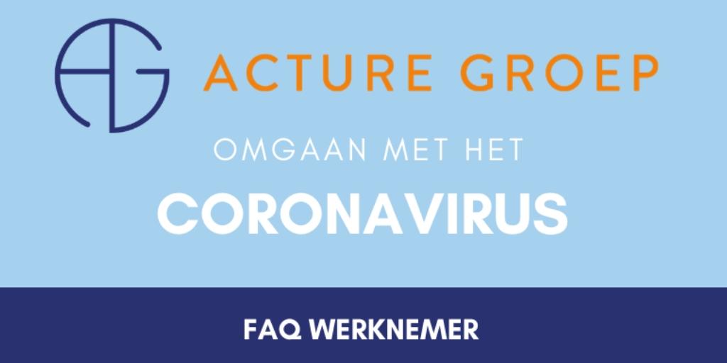 Richtlijnen omgaan met coronavirus